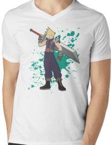 Cloud - Super Smash Bros Mens V-Neck T-Shirt