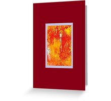 JWFrench Collection Marbled Card 48 Greeting Card