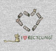 Gerbils Love Recycling One Piece - Long Sleeve