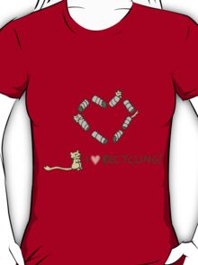 Gerbils Love Recycling T-Shirt