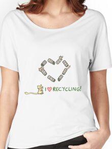 Gerbils Love Recycling Women's Relaxed Fit T-Shirt