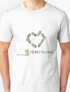 Gerbils Love Recycling Unisex T-Shirt