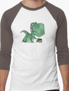 Playful Rex Men's Baseball ¾ T-Shirt