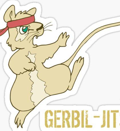 Gerbil-Jitsu Gerbil  Sticker