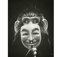 Anonymous I. Photographic Print