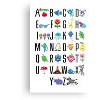 Alphabet Cute  Metal Print