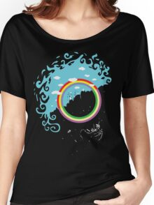 Somewhere under then rainbow Women's Relaxed Fit T-Shirt