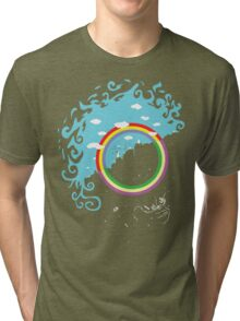 Somewhere under then rainbow Tri-blend T-Shirt