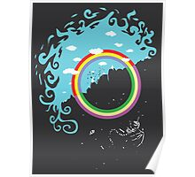 Somewhere under then rainbow Poster