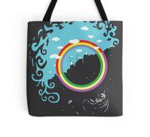 Somewhere under then rainbow Tote Bag
