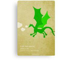 Puff the Magic Dragon Canvas Print