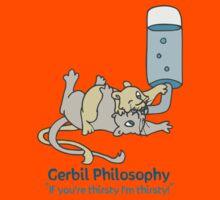 Thirsty Gerbil Philosophy  Kids Tee