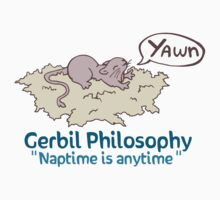 Naptime is Anytime Gerbil  Kids Clothes