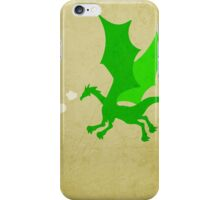 Puff the Magic Dragon w/o Title iPhone Case/Skin