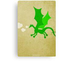 Puff the Magic Dragon w/o Title Canvas Print