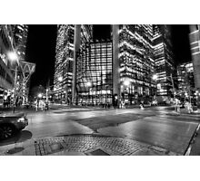 Night Dreams - Financial District Photographic Print