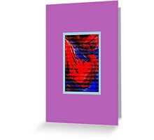 JWFrench Collection Marbled Card 58 Greeting Card