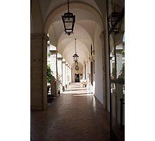 Villa d'Este Arcade Photographic Print