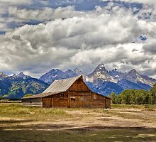 The T. A. Moulton Barn in Grand Teton National Park by Matt Suess