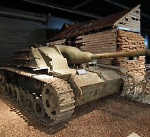 Sturmgeschutz III Self-Propelled Gun by mike  jordan.