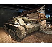 Sturmgeschutz III Self-Propelled Gun Photographic Print