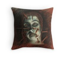 Death To Authority Figure Throw Pillow