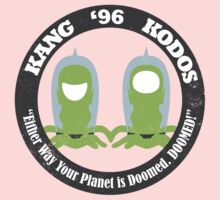 Vote Kang - Kodos '96 One Piece - Long Sleeve