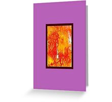 JWFrench Collection Marbled Card 64 Greeting Card