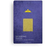 The Paper Bag Princess Canvas Print
