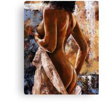 Nude impression - n07 Canvas Print