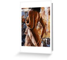 Nude impression - n07 Greeting Card