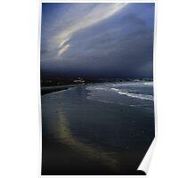 Summer lingers; tourists gone: Narragansett Poster