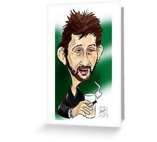 Shane MacGowan Greeting Card