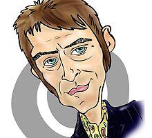 Paul Weller by Cartoonsbymark