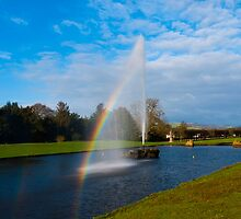 Emperor Fountain Chatsworth by Mark Baldwyn