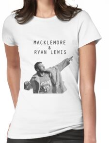 Macklemore and Ryan Lewis Inspired design UK Tour 2015 Womens Fitted T-Shirt