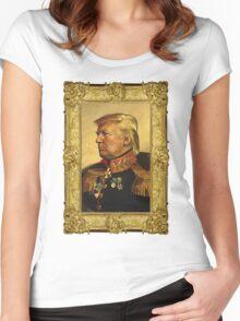 Emperor Trump 2016 Women's Fitted Scoop T-Shirt