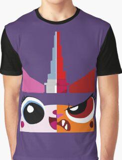 Dual Unikitty Graphic T-Shirt