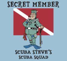"Scuba Steve SCUBA Squad ""Secret Member"" by SportsT-Shirts"