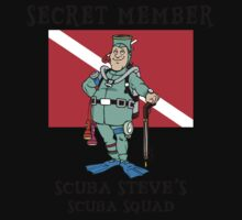 "Scuba Steve SCUBA Squad ""Secret Member"" Kids Clothes"