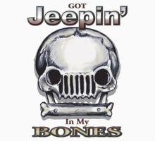 Jeepin' Bones Baby Tee