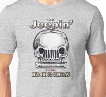 Jeepin' Bones Unisex T-Shirt