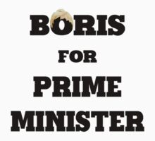 Boris for Prime Minister Kids Clothes