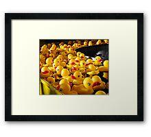 Carnival Duckies Framed Print