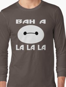 Fist Bumping Robots Long Sleeve T-Shirt