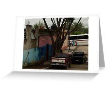 Oaxaca Street Greeting Card