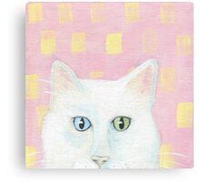 Green Eye, Blue Eye Canvas Print