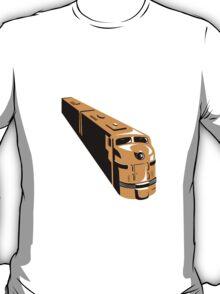 Diesel Train High Angle Retro T-Shirt