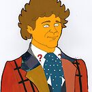 Doctor Who - Colin Baker- Simpson-esque Colour by Donnahuntriss