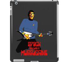 Spock You Like A Hurricane iPad Case/Skin